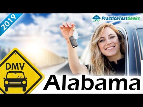 DMV Alabama AL Permit Test Driving 2019