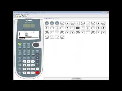 TI-30XS MultiView - Correlation and Regression - Correlation Coefficient
