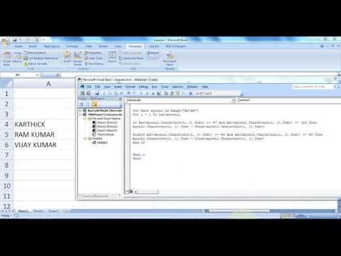 Microsoft Excel How To Create Toggle Case Word In Excel Using Vba