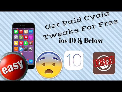 How to Get PAID cydia tweaks/Apps/Themes for free From Main Repos and Developers