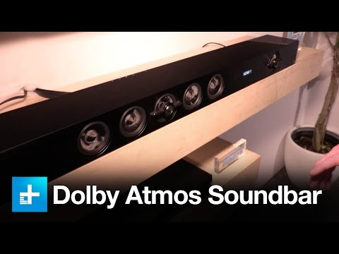 Sony brings Dolby Atmos surround sound to its new soundbar at CES 2017