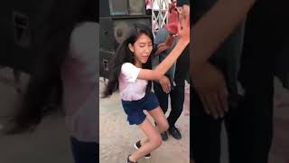 Khmer student dance2018 at school Let's dance :D