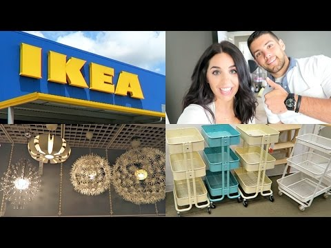 IKEA! SHOP WITH ME! JULY 2016!