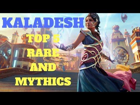 MTG - Kaladesh - Top 5 Rare and Mythic Cards - Magic the Gathering