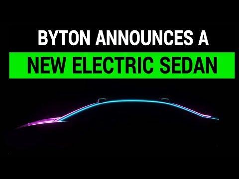 Byton Announces a New Electric Luxury Sedan
