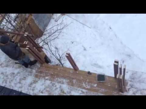 Dale's sturdy railing