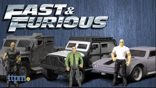 Fast & Furious Stunt Stars Dom + Ice Charger, Hobbs + Navistar MXT & Hobbs + Navistar MXT by Mattel