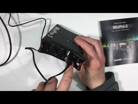 Sound Devices MixPre-3 Power Spec and Updates