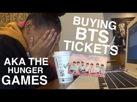 Buying BTS Love Yourself World Tour Tickets! LONDON 2018 | Renee