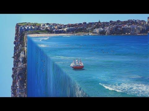 3D Ocean Effect | Photoshop Tutorial ( Perspective Bending)