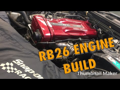 Skyline RB26 GT-R Engine Build! Twin turbo (Removal & Refit)