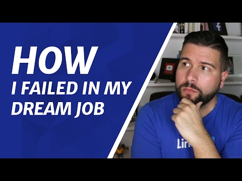 What I Learned From Failing In My Dream Job at LinkedIn
