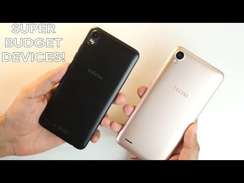 Infinix Smart 2 vs Tecno Camon i Ace Impressions & comparison