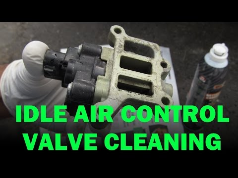 Honda Idle Air Control Valve, PCV and Throttle Body Cleaning