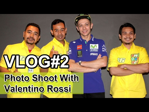Photo Shoot With Valentino Rossi - Vlog#2