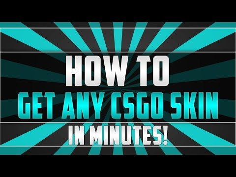 HOW TO GET ANY SKINS YOU WANT IN MINUTES!!!