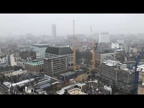 sounds & sights of London from New Zealand House, London (2-19-18)