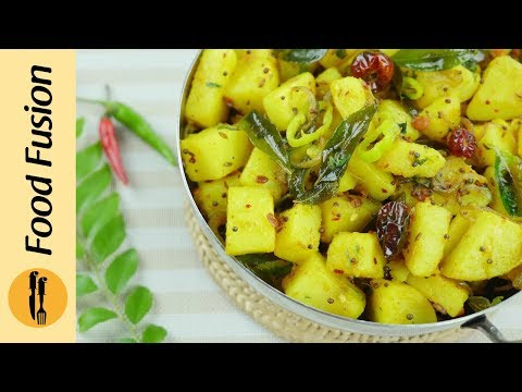 Very Easy Masala Aloo Recipe - Food Fusion
