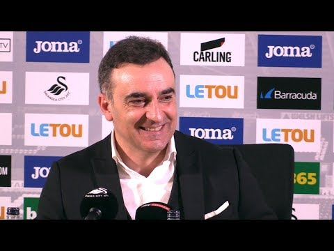 Swansea 1-0 Liverpool - Carlos Carvalhal Post Match Press Conference - Premier League #SWALIV