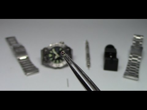 How to size a Seiko (or any!) Pin and Collar Bracelet. Watch and Learn #15