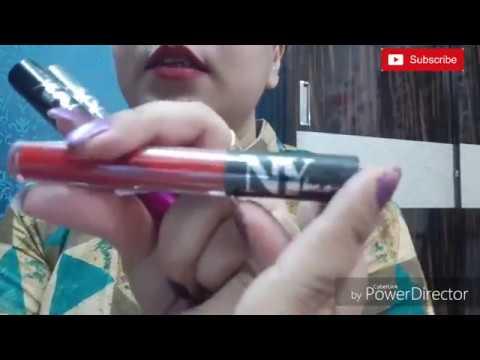 My purplle.com lipstick mini haul/ NY BAE LIPTSICKS