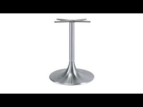 Trumpet or Wine Glass Pedestal Table Base - Replacementtablelegs.com