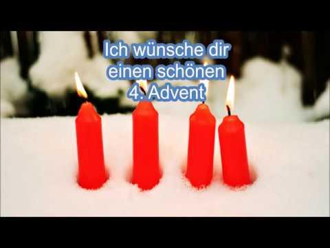 Adventsgüße Liebe Grüße zum 4. Advent Adventsgruß für dich Gruß zum 4. Advent