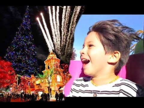 MAGICAL CHRISTMAS AT FIESTA TEXAS THEME PARK