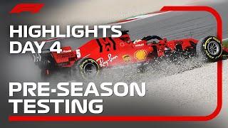 2020 Pre-Season Testing: Day 4 Highlights