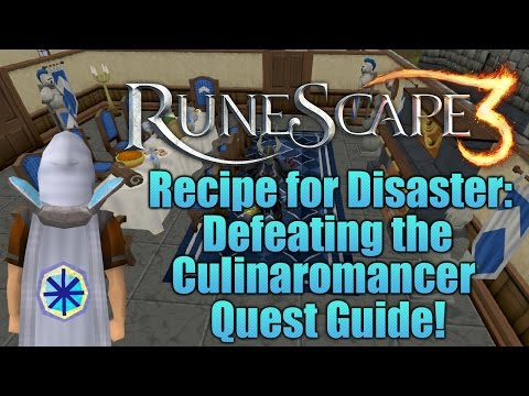 Runescape 3: Defeating the Culinaromancer - Recipe for Disaster Quest Guide!