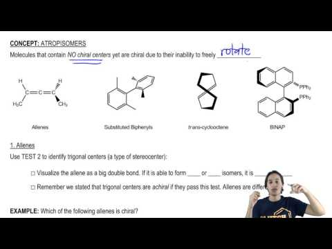Recognizing chiral molecules with zero chiral centers
