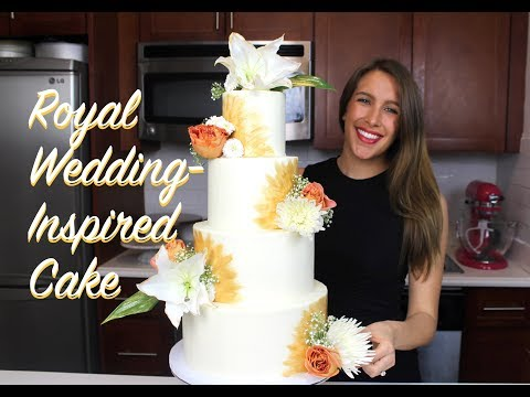 Royal Wedding-Inspired Cake | CHELSWEETS