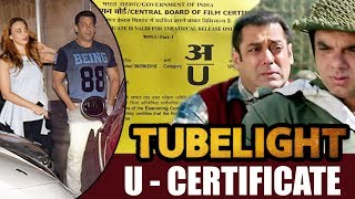 Salman & lulia Spends Quality Time Together , Tubelight Gets U Certificate From CBFC