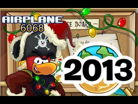 Rockhopper Arrives! (Rare Items + New Background)- Holiday Party 2013