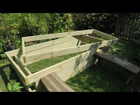How to Build a Raised Bed Vegetable Garden Frame: Cost, Build & Simple Frame