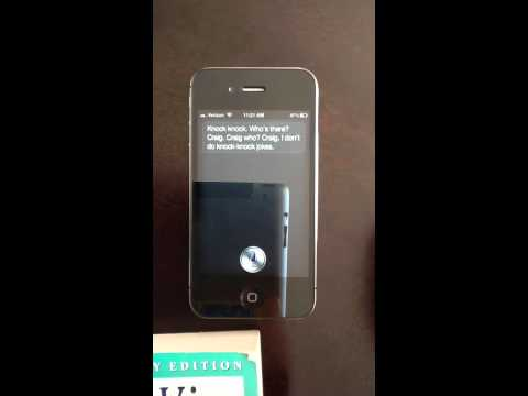 Funny questions to ask Siri on new Iphone 4S