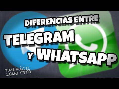 Principales diferencias entre Telegram y WhatsApp