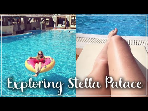 EXPLORING AT STELLA PALACE, CRETE - LUXURY SWIMMING POOLS AND ALL INCLUSIVE  - A CHILDMINDING MUMMY