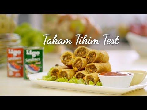 Takam Tikim Test: Lumpiang Shanghai