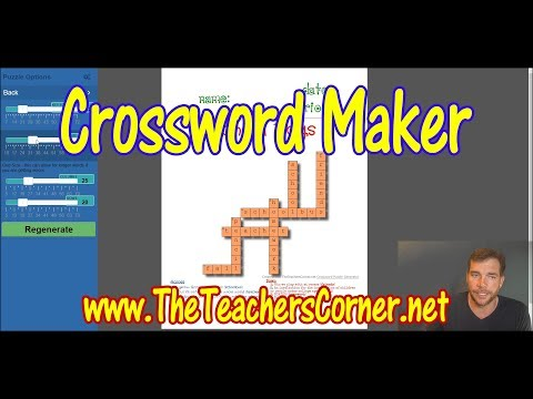 Crossword Maker | How-Tos and FAQs