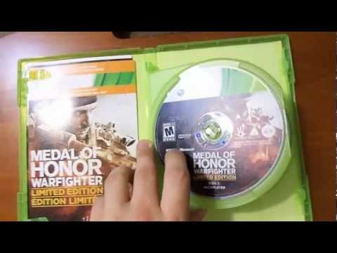 Medal of Honor: Warfighter Limited Edition Unboxing (Xbox 360)