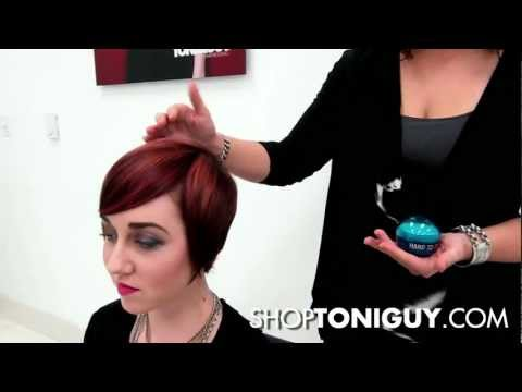 How to Style Short Hair on Women with Pomade | Bed Head Hard-To-Get Pomade