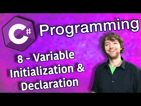 C# Programming Tutorial 8 - Variable Initialization and Declaration