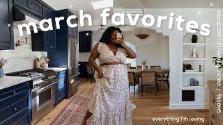 ✨MARCH FAVORITES | snacks, home decor, wardrobe, entertainment \u0026 beauty | JNAYDAILY