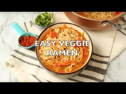 How to make: Easy Ramen Noodle Bowls