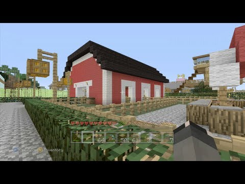 Minecraft: Animal Barn Tutorial PT1