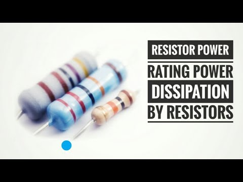 Resistor Power Rating | Power Dissipation by Resistors | WowElectric