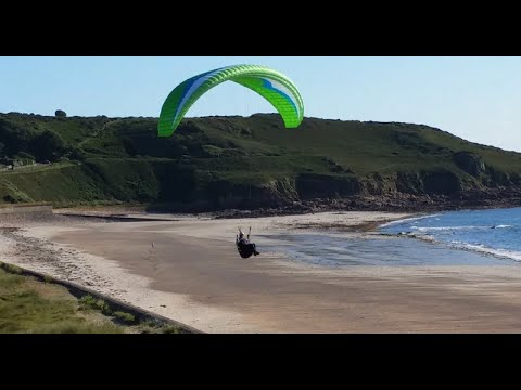 Paragliding in Jersey