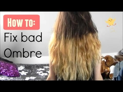 Fixing bad ombre | Cutiefish