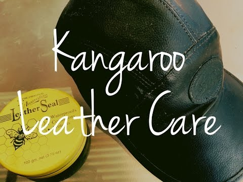 Caring for a Kangaroo Leather Hat - Great Australian Leather Care Product